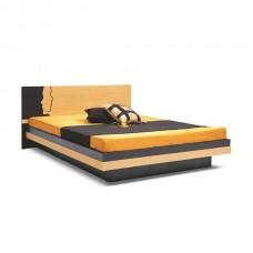 DOUBLE BLACK BEECH BED
