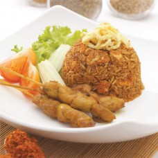 Secret Recipe Fried Rice With Satay