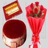 Red Velvet Cake Combo