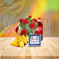 Singara With Red Rose Basket Combo