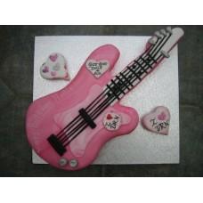 2kg Guitar Cake- Coopers