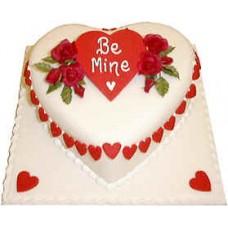 Heart Shape Cake(1Kg)- Sonargaon