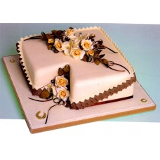 1 KG Square Shape Cake