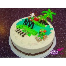 Cartoon Candy Cake 2Kg -King's Confectionery Bangladesh