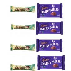 Safari Chocolate with Cadbury Dairy Milk Candy Combo