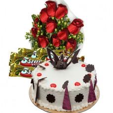 Special Cake,Flower & Chocolate