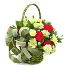 Enchanting Mixed Flower Basket