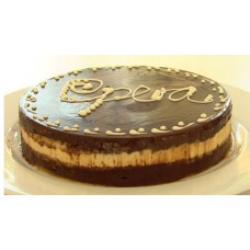 2 KG Chocolate Opera Cake-Round Shape From Radisson Blu