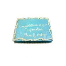 Vanilla Flavor Special Cake For Congratulations(2Kg)