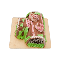 Custom-made Chocolate Log Cake(2Kg)