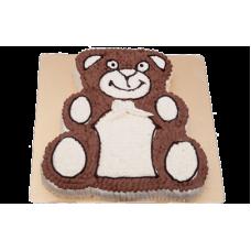 Vanilla Teddy Bear Cake