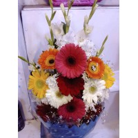 Premium Gerbera Flower Bouquet