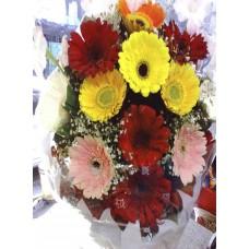 Lots of Gerbera Flowers bouquet