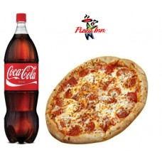 Party Set Chicken Tandoori Pizza with Soft drinks