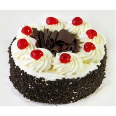 Black Forest Round Cake 1Kg From Shumi's Hot Cake Bangladesh