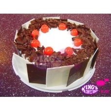 Valentine day Black Forest(1 Kg)-King's Confectionary