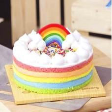 Cooper's Special Birthday Rainbow Cake (500 grm)