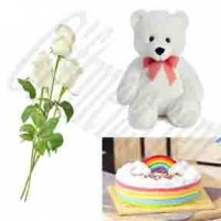 White Love Gift For Your Dear