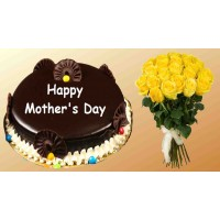 Mother's Day Special Chocolate Cake  Combo