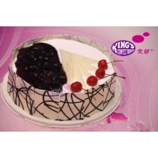 Blueberry Cake 1kg-King's Confectionery Bangladesh