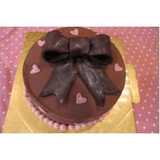 Yummy Yummy Chocolate Ribbon Cake