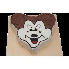 2 kg Vanilla Mickey Mouse Face Cake- CFC Bangladesh
