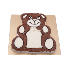 2 KG Vanilla Flavored Teddy Bear Cake