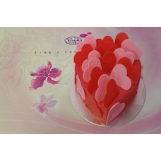 Red Heart Chocolate Cake 1KG