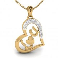 In Love With Diamond Locket In Valentine's day