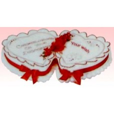 Yummy Yummy-Vanilla Double Heart Cake 4kg