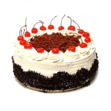 Black-forest cake Round Shape cake, cherry decorated