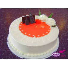 Normal Sponge Vanilla cake(1KG)-King's Confectionary