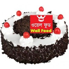 1 Kg Well Food Cake Black Forest Round cake